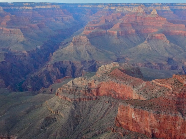 View from the South Rim (Mather Point)