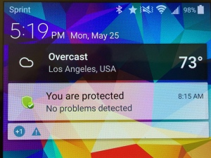 You are protected
